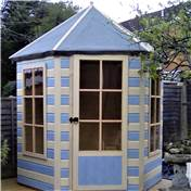 6ft x 7ft Sunshine Wooden Summerhouse (12mm Tongue and Groove Floor)