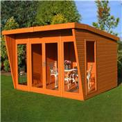 10ft x 10ft Highclere Summerhouse (12mm T&G Floor)
