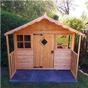 6ft x 5ft Wooden Playhouse