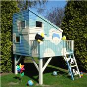 6ft x 6ft Stowe Command Post Tower Playhouse