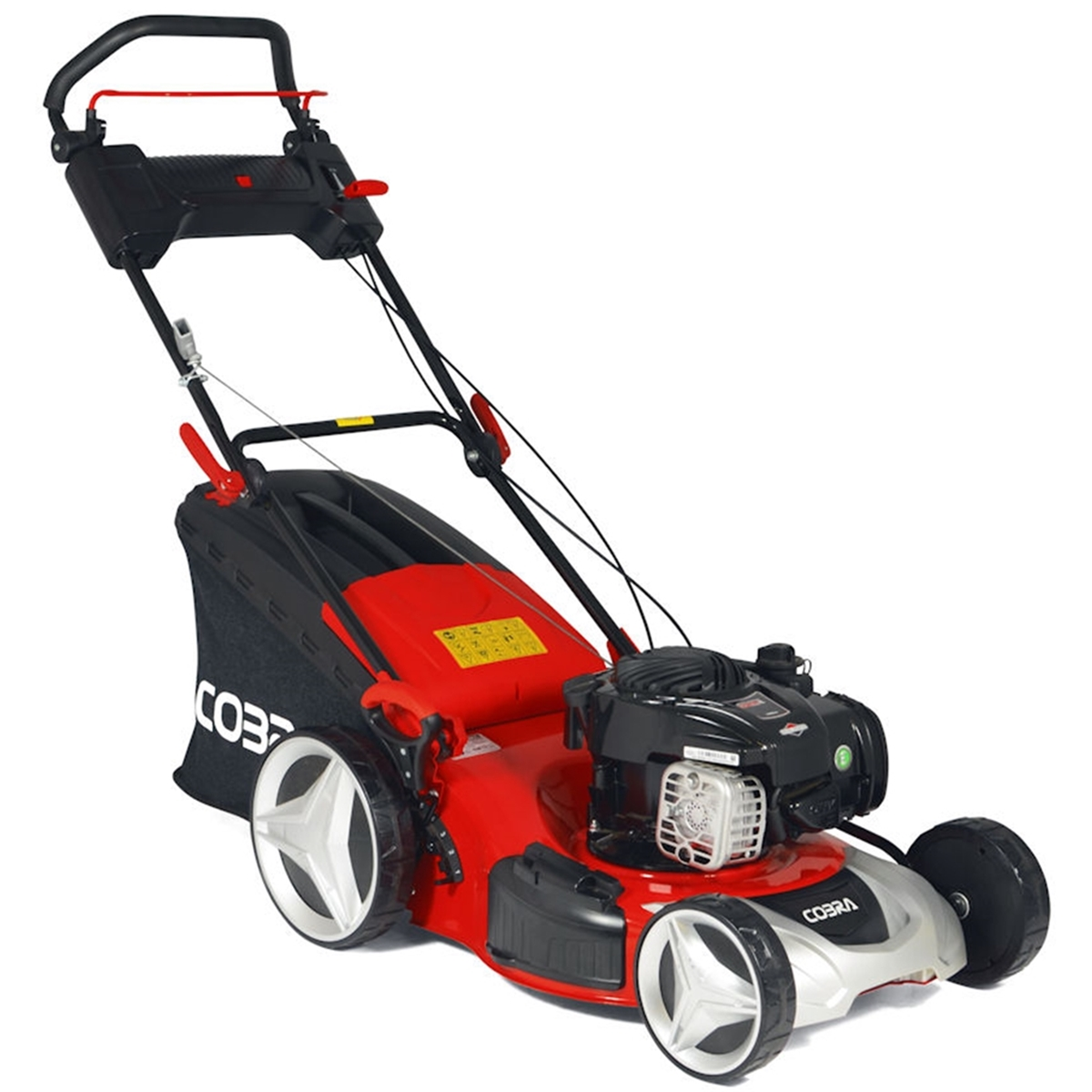 Petrol 4 in 1 Rotary Self Propelled Lawnmower - 46cm -
