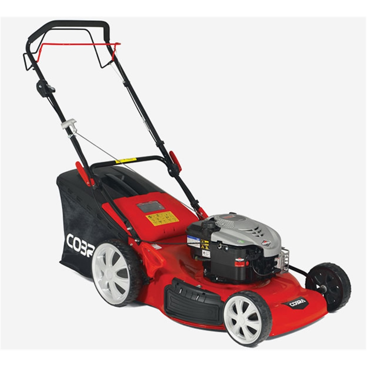 Petrol 4 in 1 Rotary Self Propelled Lawnmower - 56cm -