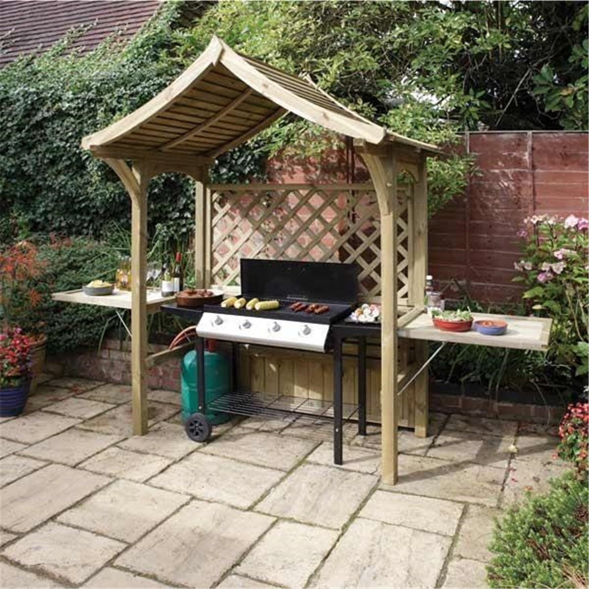 Deluxe Party Arbour