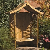 Click to view product details and reviews for Deluxe Tenbury Arbour.