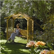 Click to view product details and reviews for Deluxe Dartmouth Swing Set Arbour.