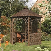 Click to view product details and reviews for Deluxe Willow Gazebo.