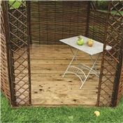 Click to view product details and reviews for Deluxe Willow Gazebo Floor.