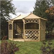 Click to view product details and reviews for Deluxe Sandringham Gazebo.