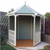 Click to view product details and reviews for 6 X 7 Tongue And Groove Wooden Summerhouse Arbour 12mm Tongue And Groove Floor And Roof Pressure Treated.