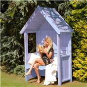 Click to view product details and reviews for 4 X 2 Wooden Seat Arbour.