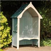Click to view product details and reviews for 45 X 24 Wooden Seat Arbour.