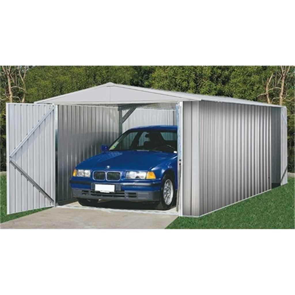 **PRE-ORDER** Due back into stock 1st Week of April 2014***10ft x 20ft Utility Zinc Metal Shed (3m x 6.02m) *FREE 48HR DELIVERY