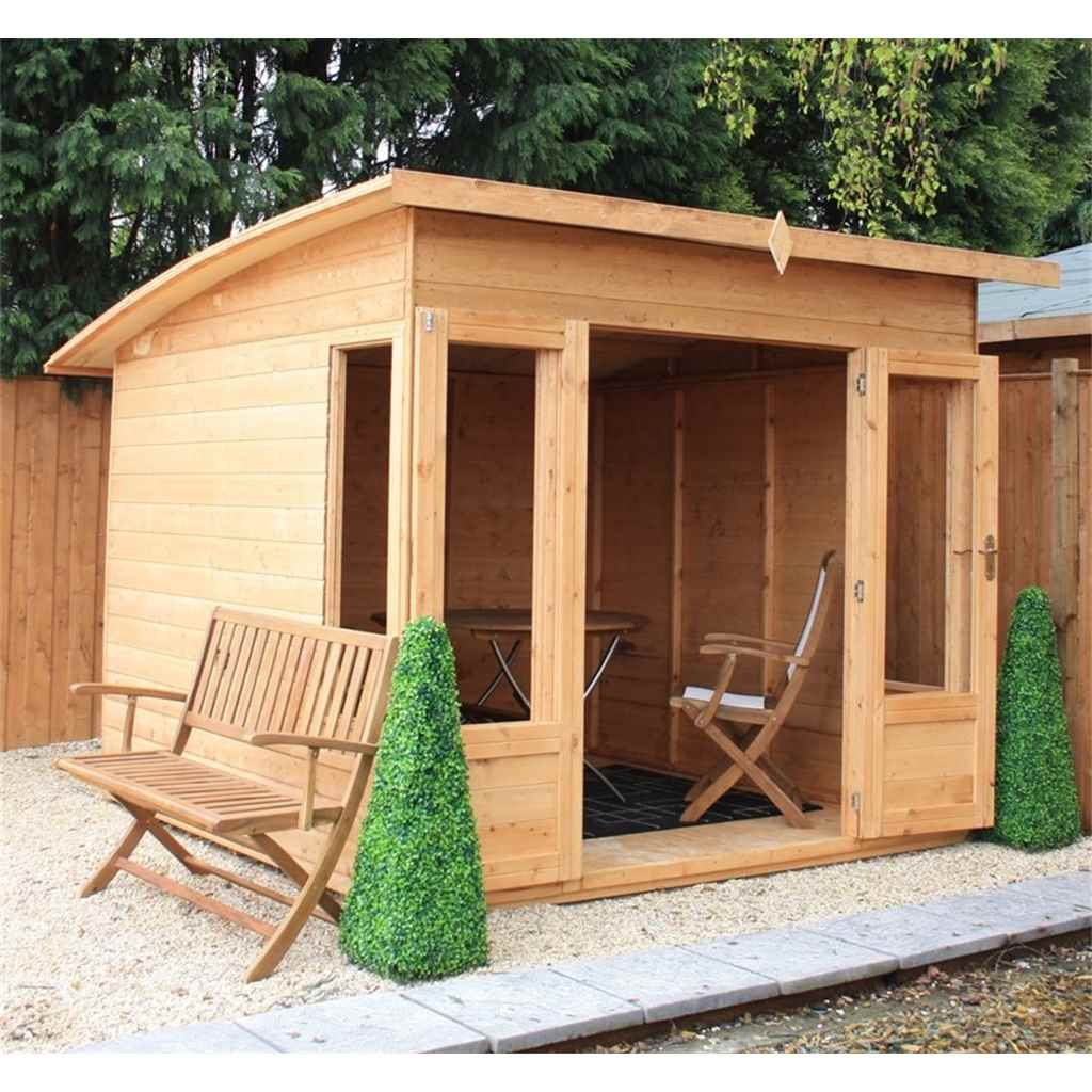 8ft x 8ft Helios Summerhouse (12mm T&G Floor)