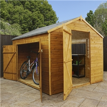 8FT x 8FT DELUXE TONGUE & GROOVE DUTCH BARN