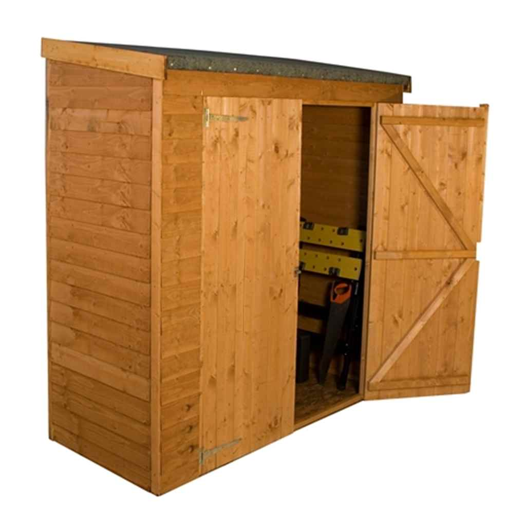 6FT x 2.6FT OVERLAP PENT STORAGE SHED