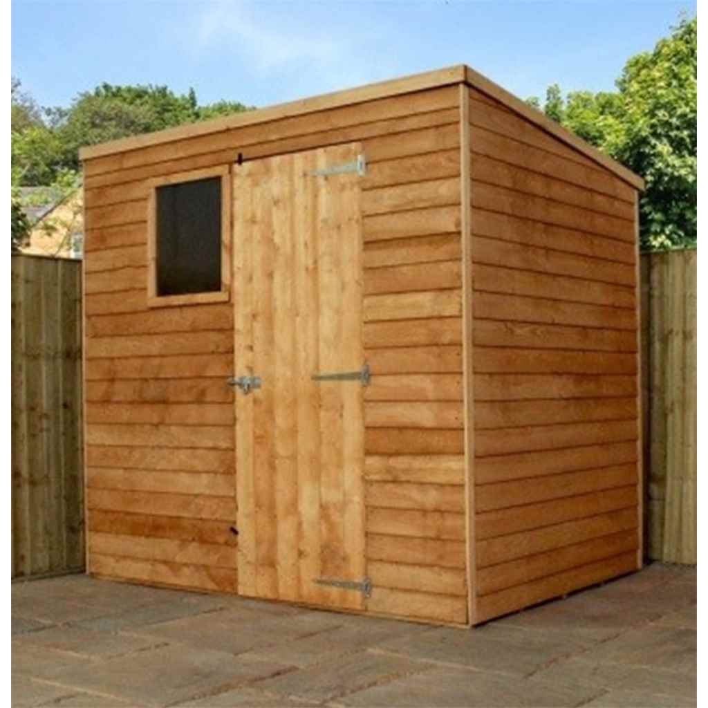7FT x 5FT BUCKINGHAM OVERLAP PENT SHED
