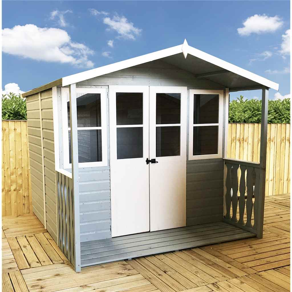 7ft x 7ft Vallance Summerhouse (12mm T&G)