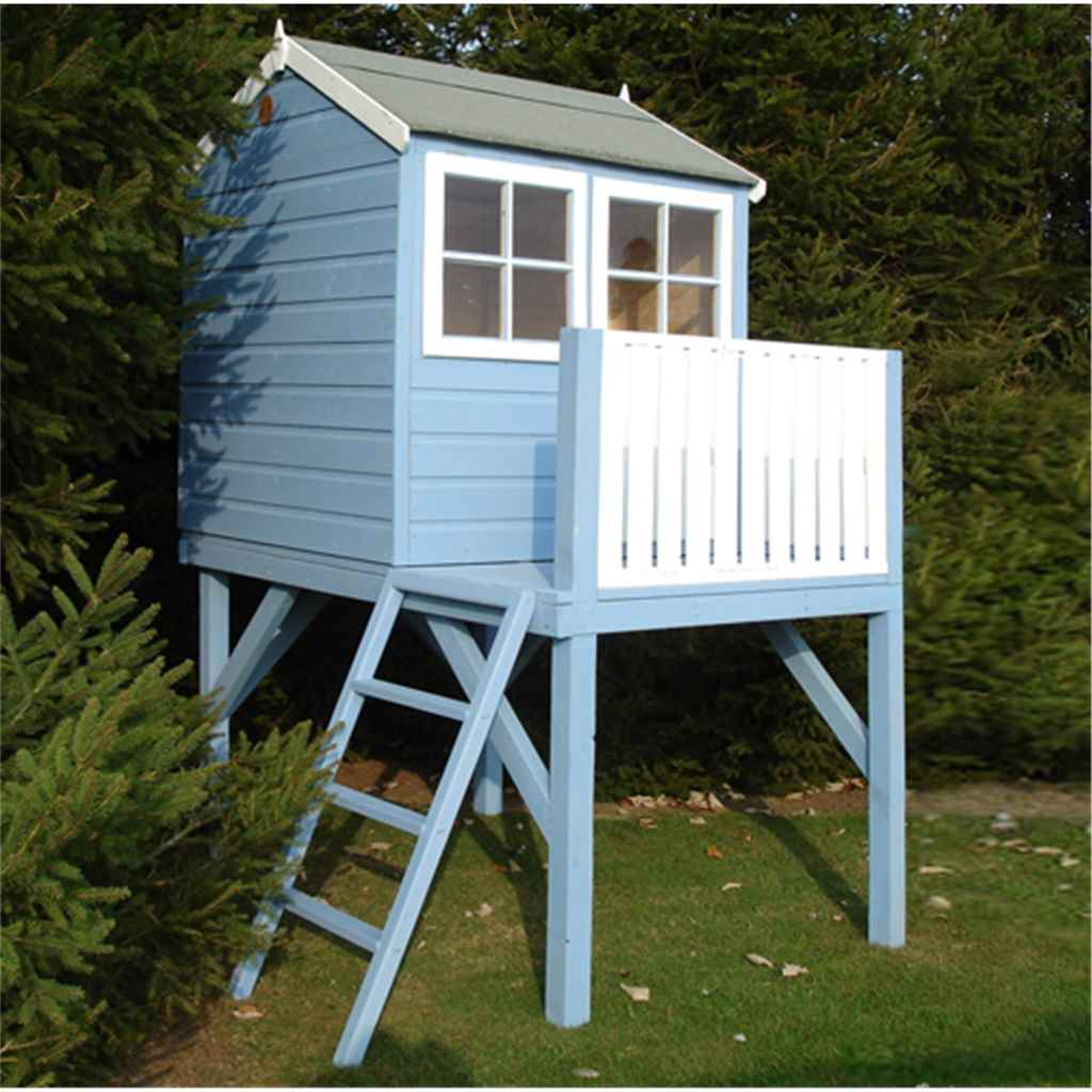 4ft x 6ft Stove Tower Playhouse