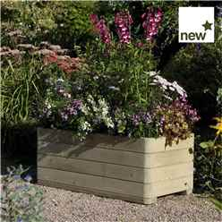 "Deluxe Marberry Rectangular Planter 3'3"" x 1'7"" (1.0m x 0.50m)"