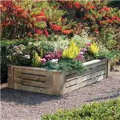 6 x 3 Deluxe Raised Planter