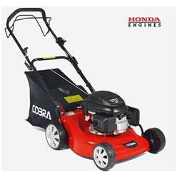 Honda Powered Self Propelled Petrol Rotary Lawnmower - 46cm - Cobra M46SPH - Free Oil and Free Next Day Delivery*