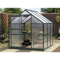 4ft x 6ft Silver Greenhouse