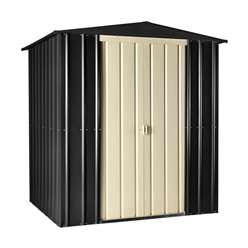 **PRE-ORDER: DUE BACK IN STOCK 24TH OCTOBER** 6 x 5 Premier EasyFix Slate Grey Apex Shed (1.71m x 1.44m)