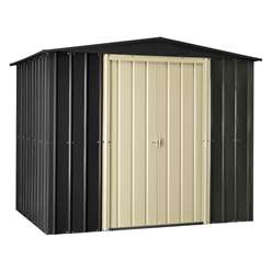 *PRE ORDER - DUE BACK IN STOCK 14TH DECEMBER* 8 x 6 Premier EasyFix Slate Grey Apex Shed (2.33m x 1.75m)