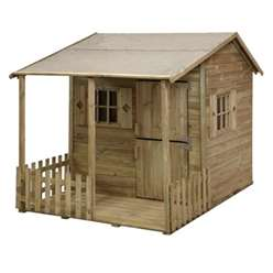 7ft x 5ft Parsley Cottage Playhouse