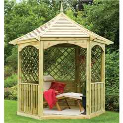 9ft x 8ft Burford Gazebo - Assembled