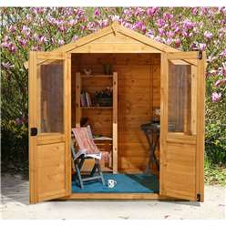 7ft x 5ft Barleywood Summerhouse