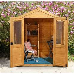 7t x 5ft Barleywood Summerhouse - Assembled
