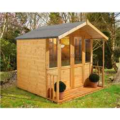 7ft x 7ft Maplehurst Summerhouse