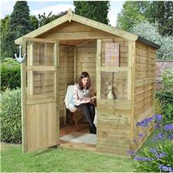 6ft x 6ft Stroud Summerhouse - Assembled