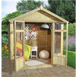 7ft x 5ft Tetbury Summerhouse - Assembled
