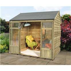 8ft x 6ft Winchcombe Summerhouse - Assembled