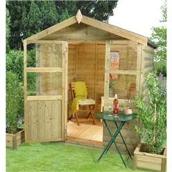 6ft x 6ft Charlbury Summerhouse - Assembled
