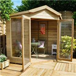 7ft x 7ft Blockley Summerhouse - Assembled