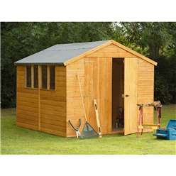 10ft x 8ft Shiplap Apex Workshop