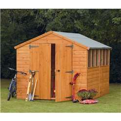 12ft x 8ft Heavy Duty Shiplap Apex Workshop
