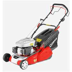 Petrol Powered Rear Roller Lawnmower - 40cm - Cobra RM40SPC - Free Oil and Free Next Day Delivery*