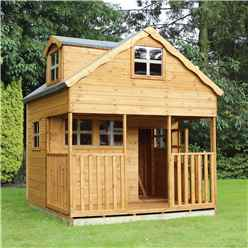INSTALLED Playhouse Double Storey 7ft x 7ft - INCLUDES INSTALLATION