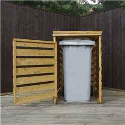 "INSTALLED 3 x 3 Pressure Treated Single Bin Store (2'8"" x 2'5"") INCLUDES INSTALLATION"