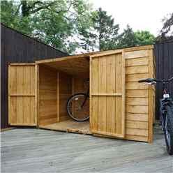"6 x 4 Overlap Pent Bike Store (6'5"" x 4'1"")"