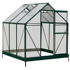 **CURRENTLY OUT OF STOCK - PRE ORDER** 6ft x 6ft Greenhouse + FREE BASE