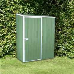 5 x 3 Premier Pale Eucalyptus Metal Garden Shed (1.52m x 0.78m) *FREE 48HR DELIVERY