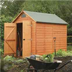 8 x 6 Deluxe Security Tongue and Groove Shed (12mm Tongue and Groove Floor)