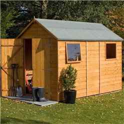 10ft x 6ft Deluxe Tongue and Groove Shed (12mm Tongue and Groove Floor)