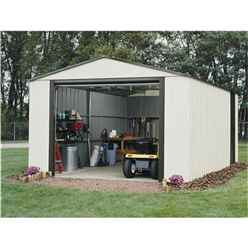 12ft x 24ft Deluxe Murryhill Metal Garage (3.71m x 7.35m)