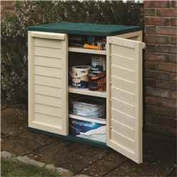 "2'5"" x 1'7"" Deluxe Plastic Utility Cabinet (0.75m x 0.50m)"